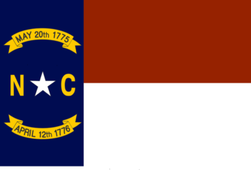 photo of a North Carolina flag