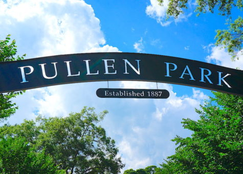 photo of pullen park sign